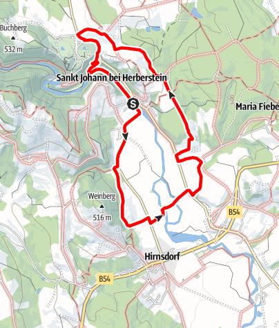 Karte / Feistritztalweg