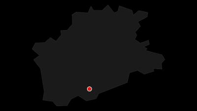 Karte / Durch das winterliche Bielatal zur Grenzplatte