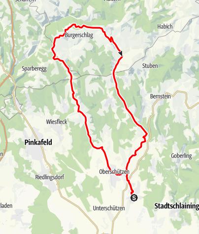"""Karte / Radarena M5 - """"Panoramablick"""""""