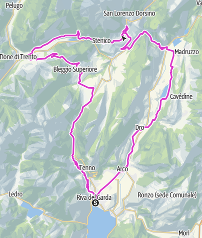 Karte / Ballino - Durone - Stenico