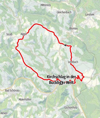 Térkép / Rosengartenroute - E-Bike
