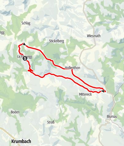 Térkép / Windradroute - E-Bike