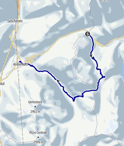 Kaart / Lolenpass (Pass Tagliola)