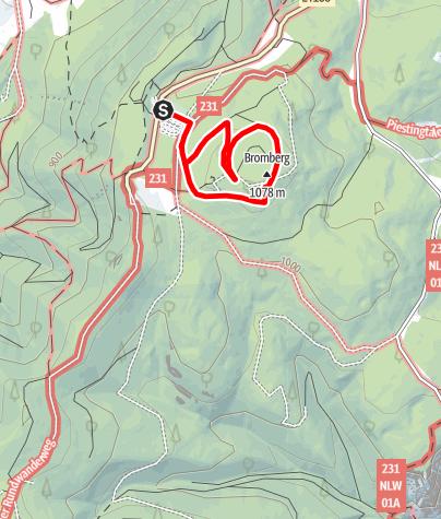 Térkép / Naturpark Hohe Wand - Kindererlebnisweg