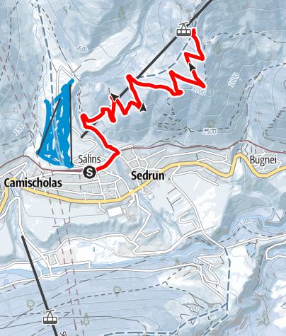 Karte / 259 Aussichtspunkt Cungieri