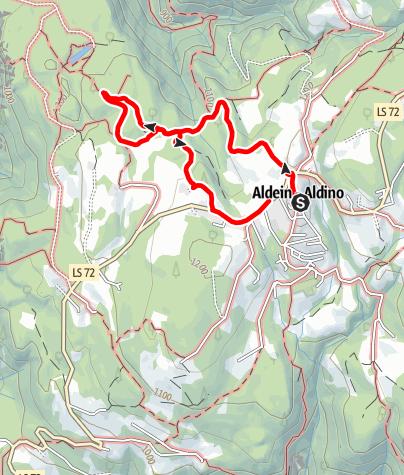 """Mappa / Sentiero circolare """"Wildeich"""""""