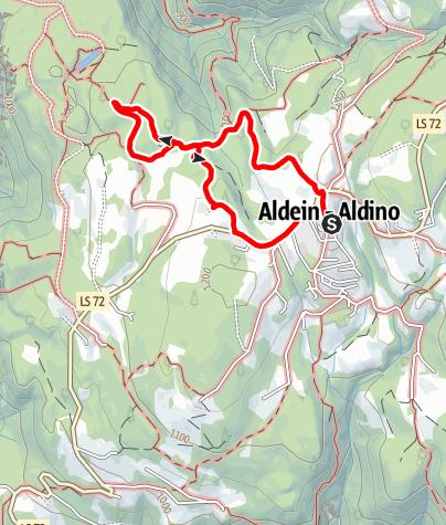 "Map / Circular route ""Wildeich"""