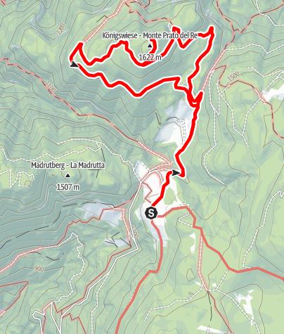 Mapa / Märchenhafte Buchenwälder und malerische Mischwälder