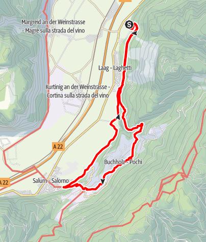 Karte / Dürerweg: Auf den Spuren von Albrecht Dürer