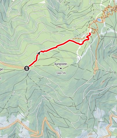 Karte / Almrauschtrail by Wexl Trails #8a