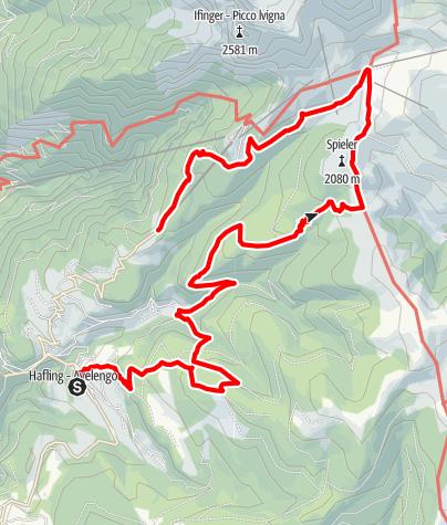 Karte / Hafling - Falzeben