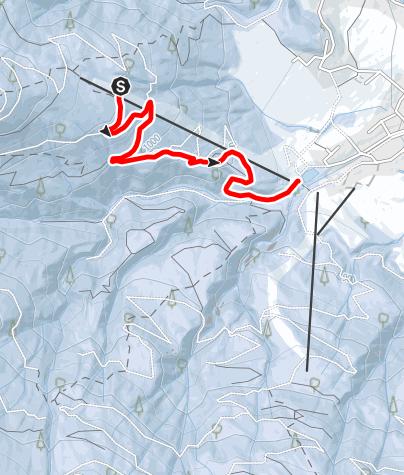 Karte / Berggeisthütte