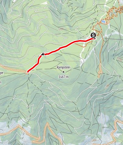 Karte / Kampsteiner Verbindungsroute by Wexl Trails #8