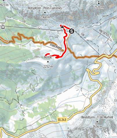 Map / Cir Tiera