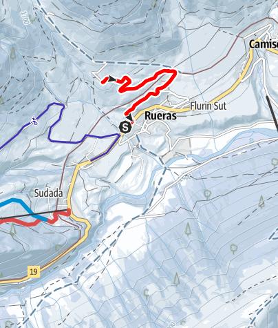 Kaart / Pardatsch bei Rueras