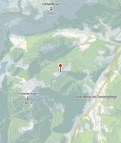 Karte / Karalm 1.430 m