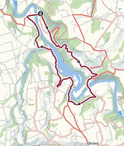 Karte / Rund um die Hängebrücke