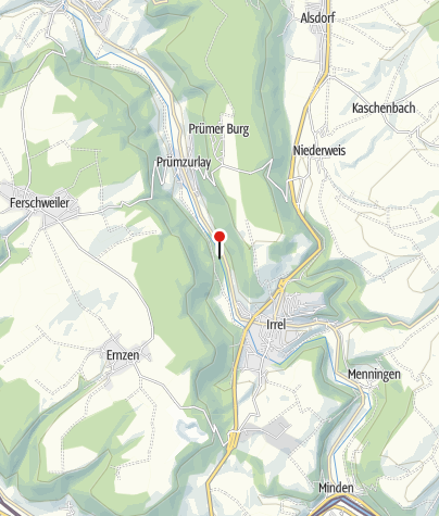 Kaart / Irreler Wasserfälle