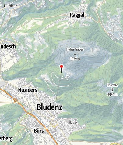 Karte / Alpengasthof Muttersberg