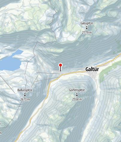 Karte / Paznauntal