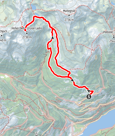Map / Hoher Dieb
