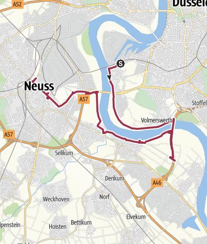 Karte / Düsseldorf - Neuss
