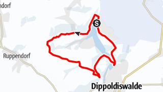 Karte / Winterwandern - Rund um die Talsperre Malter