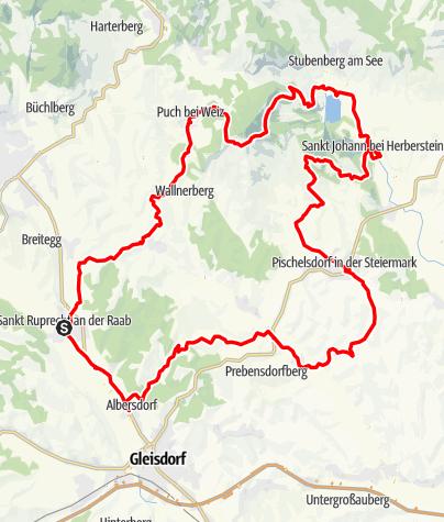 Karte / Apfelland Tour