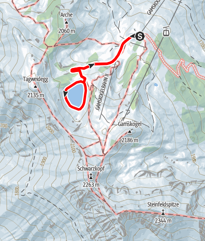 Karte / Seekarsee-Runde