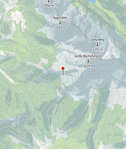 Karte / Sulzkaralm