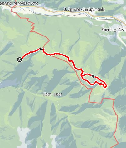 Karte / Astjoch