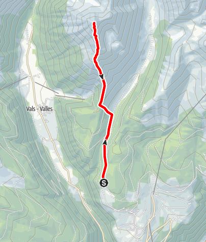 Mappa / Cima Gaisjoch
