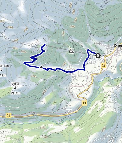 Kaart / Salomon Trail Caischavedra