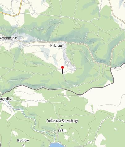 Karte / Wanderparkplatz - An der Fischerbaude