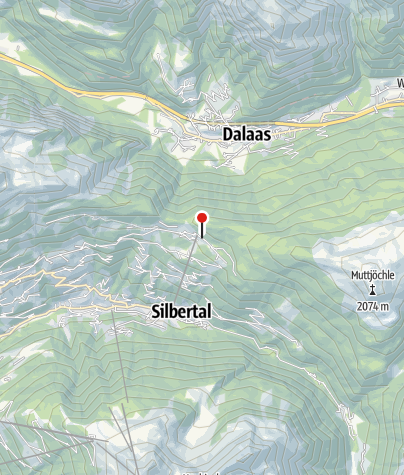 Karte / Knappenweg Abzweigung