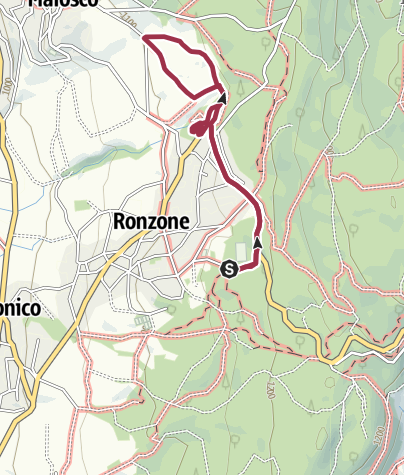 Cartina / Kaiser Promenade