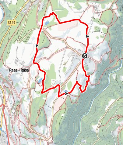Kaart / Apfelweg in Natz-Schabs