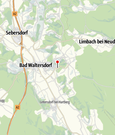 Karte / Heiltherme Bad Waltersdorf