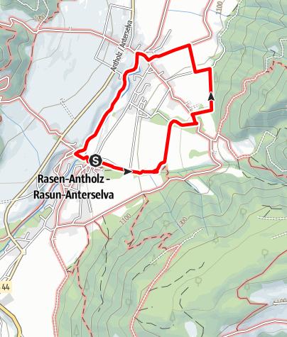 Kaart / Kleine Rasner Runde