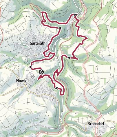 Karte / Traumschleife Romikaweg