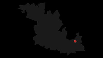 Karte / Jakobswanderweg 9. Etappe