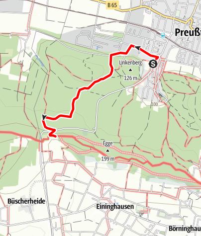 Karte / Preußisch Oldendorf Raute
