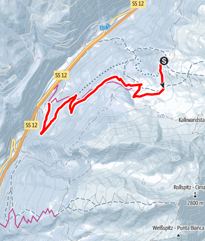 Mapa / Zirog Rodelbahn