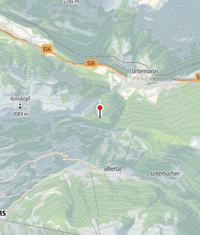 Karte / Aussichtspunkt Ganzaleita