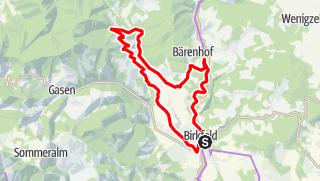 Karte / Elmleitentour
