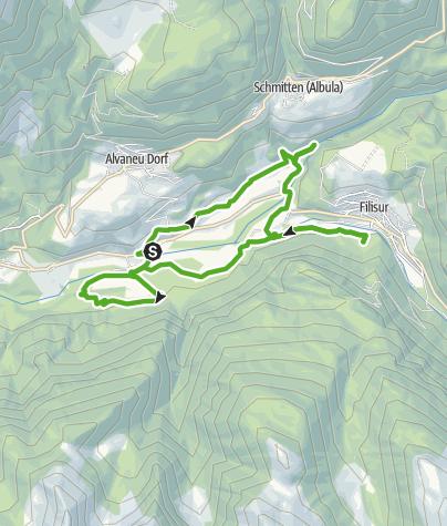Karte / Wasserweg ansaina