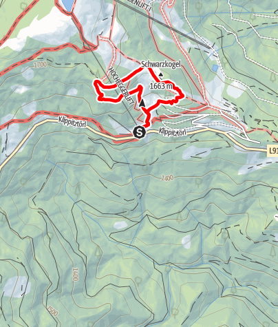 Karte / Naturerlebnis-Ameisenpfad/Klippitztörl