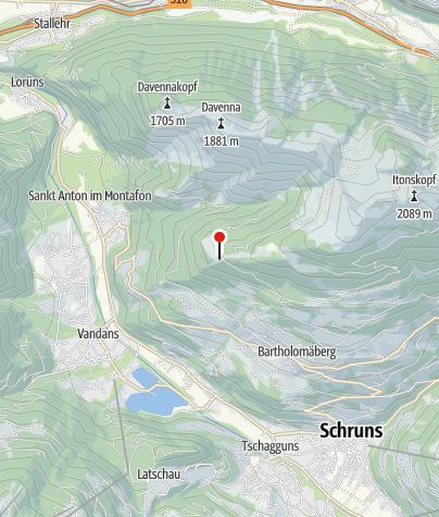 Karte / Rellseck, prähistorische Siedlungsgeschichte (Bergknappenweg)