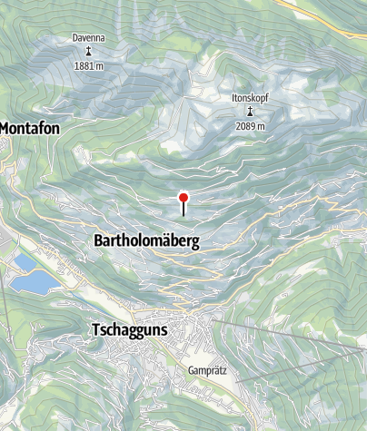 Karte / Mittelalterliche Bergbauzone Knappagruaba Historisches Bergwerk