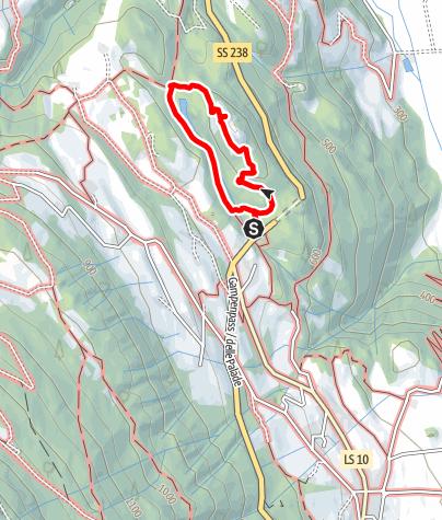 Cartina / Escursione a S. Ippolito
